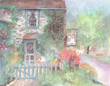 Fleecydale Cottage, Carversville, Pennsylvania